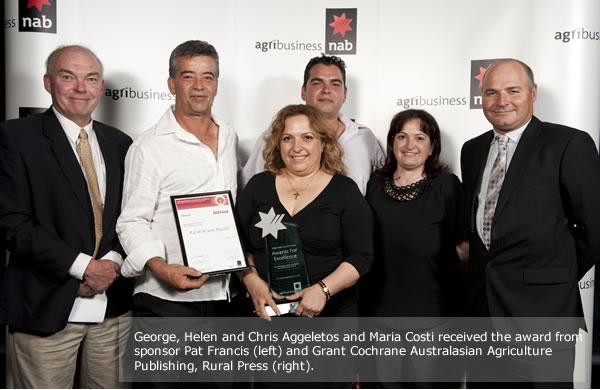 Nab Agribusiness Award winners